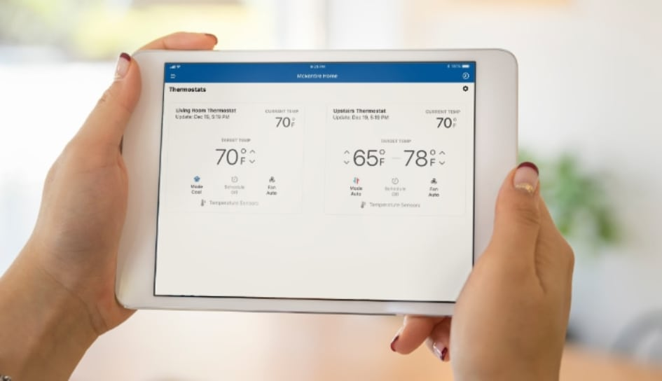 Thermostat control in West Lafayette